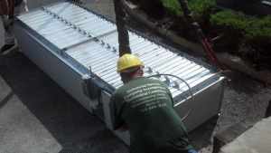 8-23-2012 cooling tower louvers install